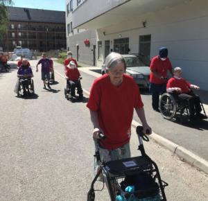 Alzheimerloppet på Villa Ekeberg i Angered